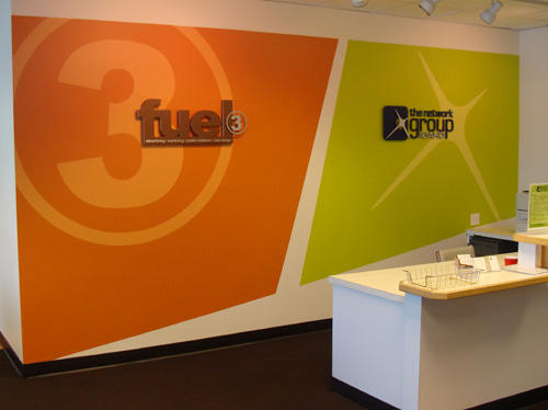 Fuel 3 and Network Group signs
